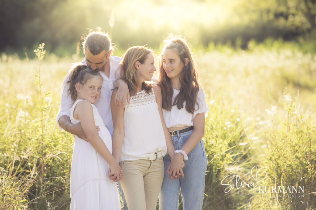 Sunset Familienshooting in Sursee